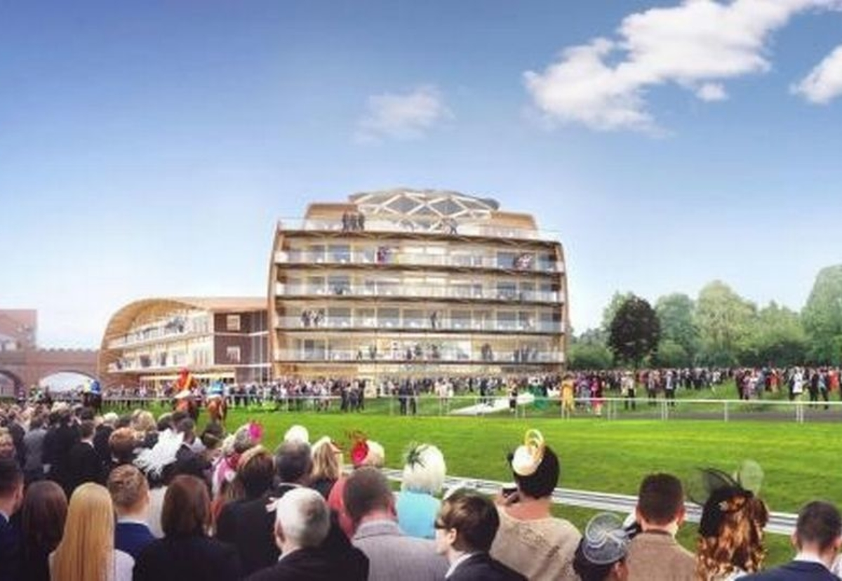New grandstand and conference centre plan