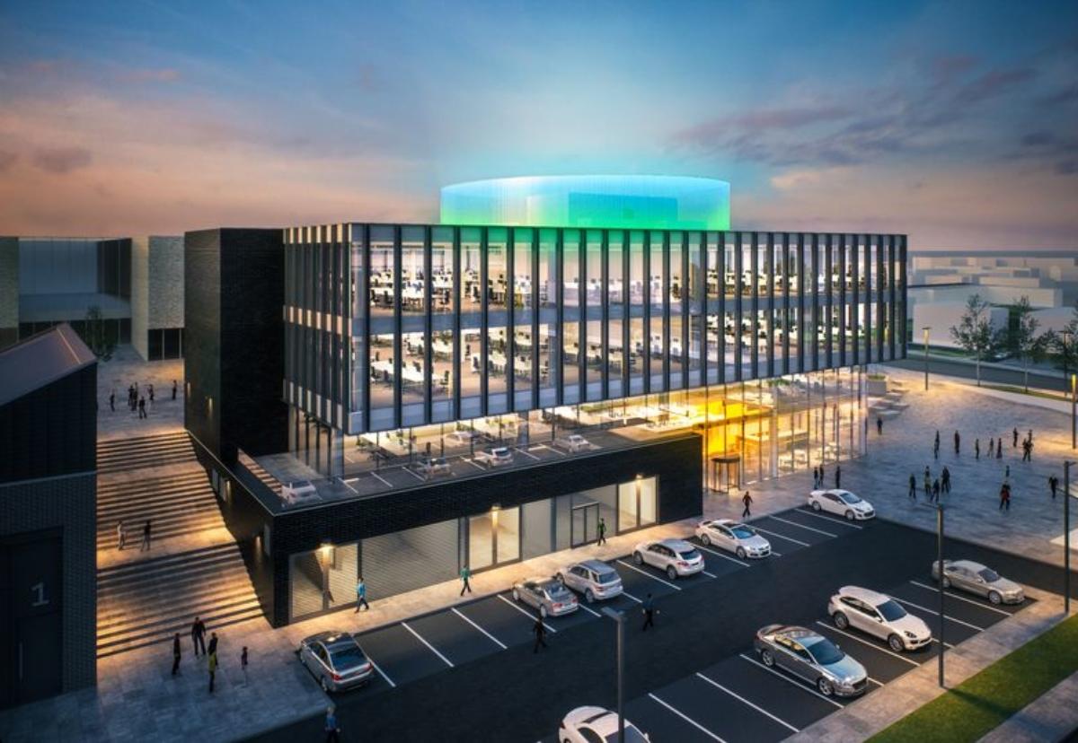 Halo Enterprise and Innovation Centre plan