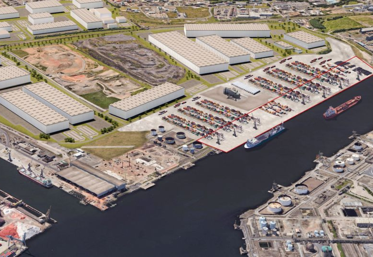 Plans involves a 50m wide heavy-duty hardstanding loading facility