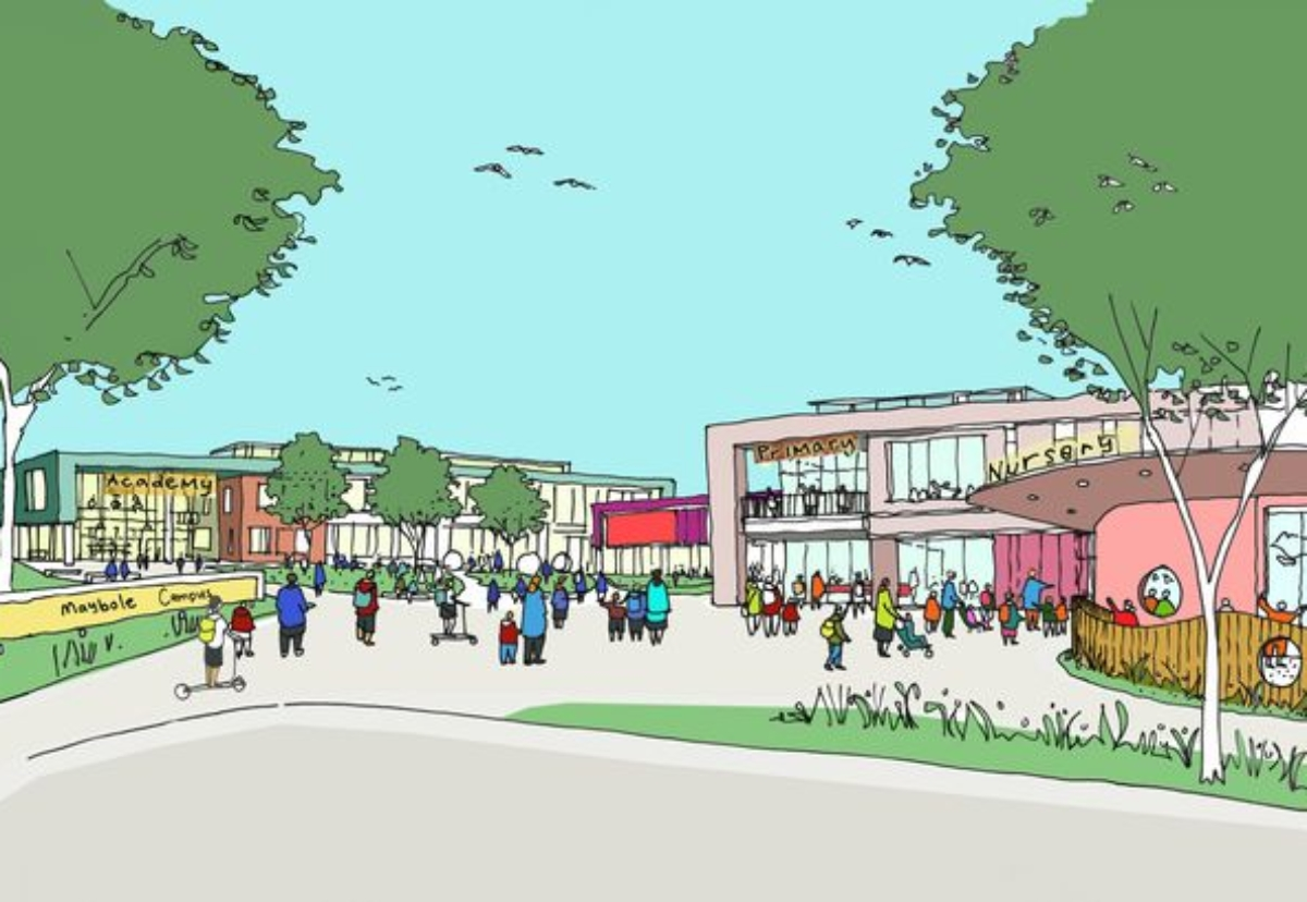 Morgan Sindall will build the £42m Maybole Community Campus in Ayrshire