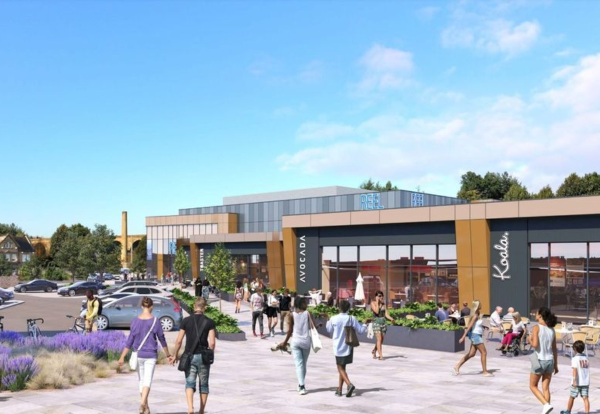 Scheme will include an eight-screen Reel Cinema, as well as restaurants, bars and shops