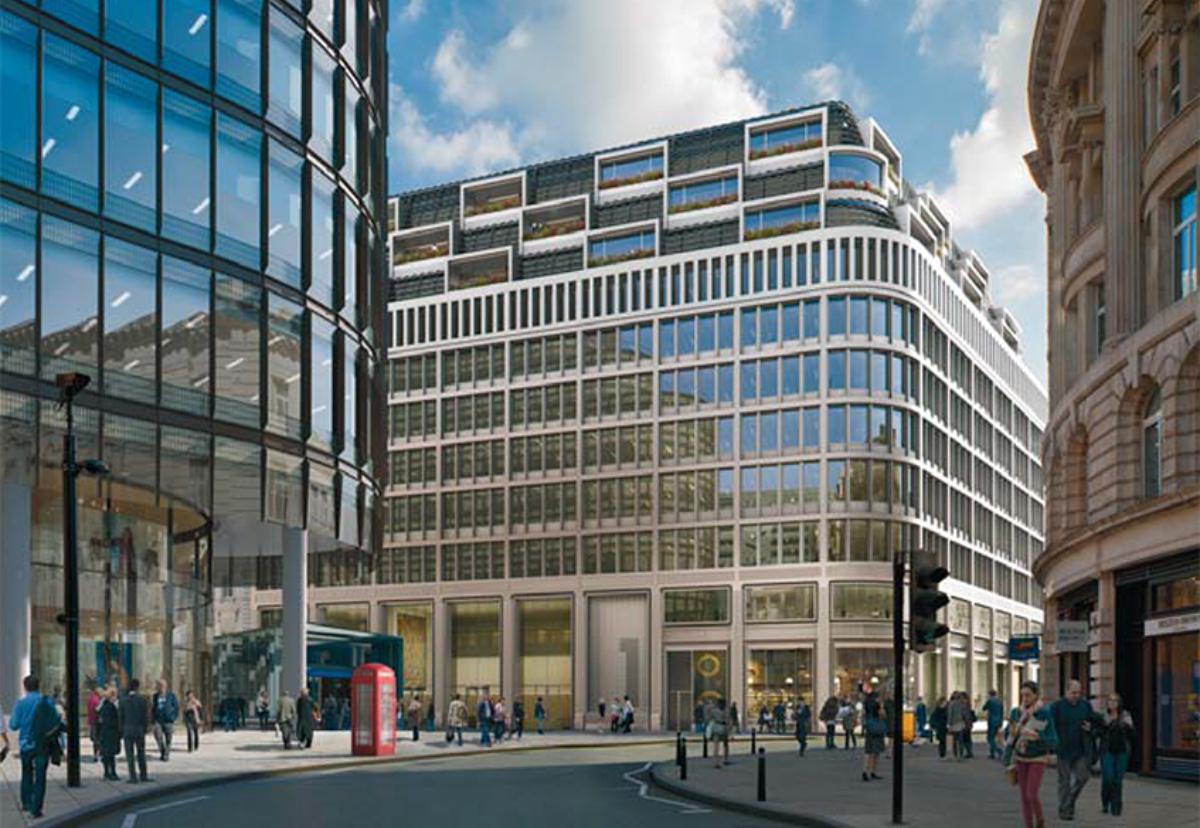 New landmark One Liverpool Street office building