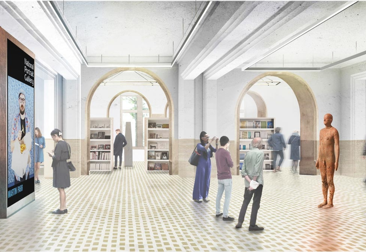 Refurbishment work will create a new entrance and forecourt