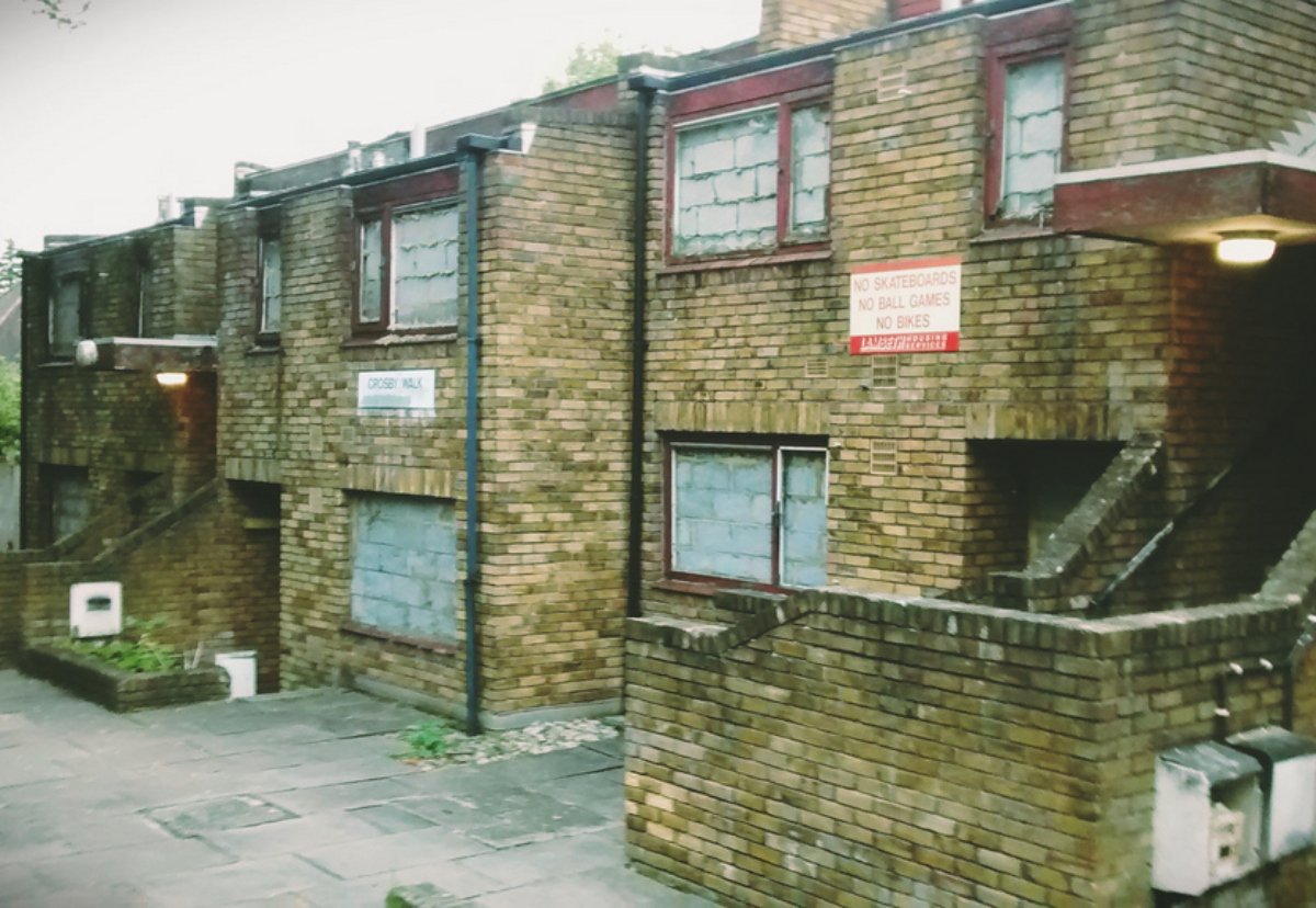 Plans to completely demolish the estate next to Brockwell Park have met widespread opposition