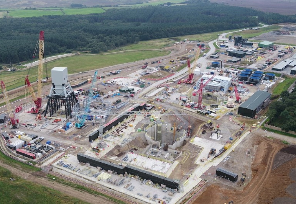 The Woodsmith mine project involves sinking two 1.5km shafts below a national park on the North York Moors to access a huge deposit of polyhalite, a mineral that can be used as fertiliser