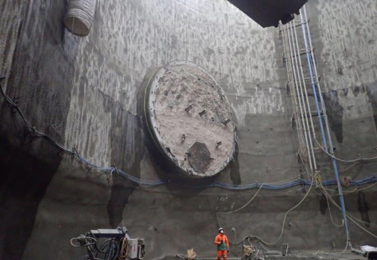 53m deep Combined Sewer Outfall shaft at Blackfriars bottomed out