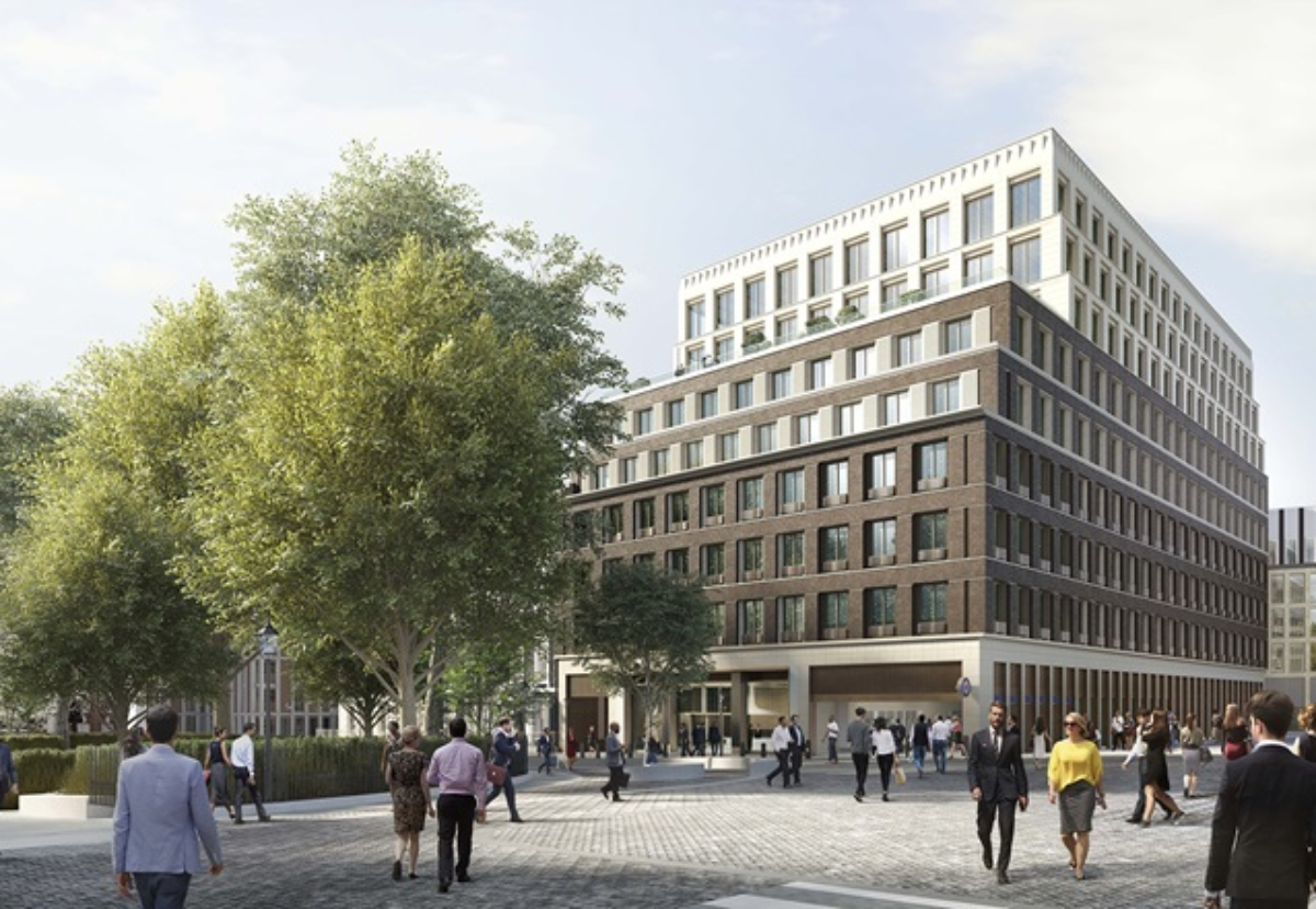 Mace has paused work at the developer's Hanover Square site