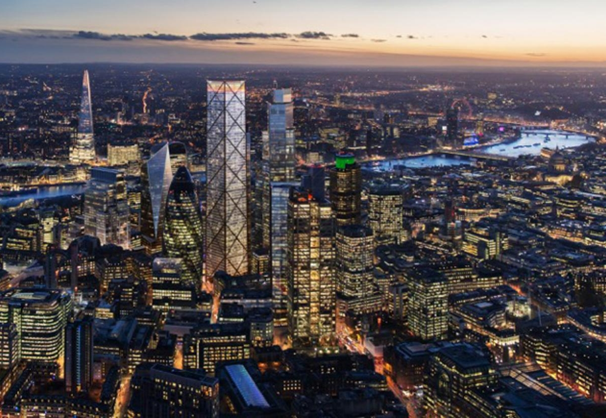 How London could look at night once 1 Undreshaft and 22 Bishopsgate are completed