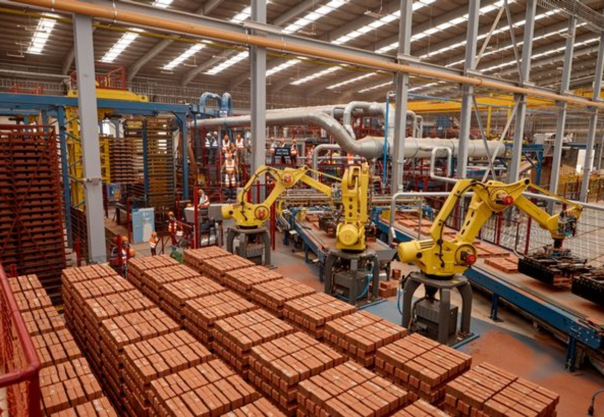 Ibstock is restructuring its brick making operations