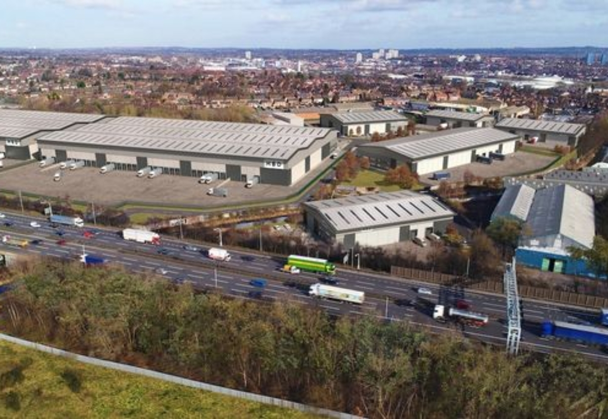 Seven sheds will be built at site next to the M6 in the Black Country