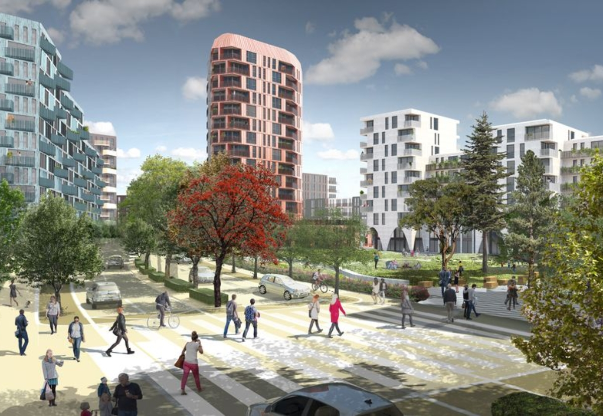 Over 1,700 modern homes will be built in the Better Queensway regeneration project