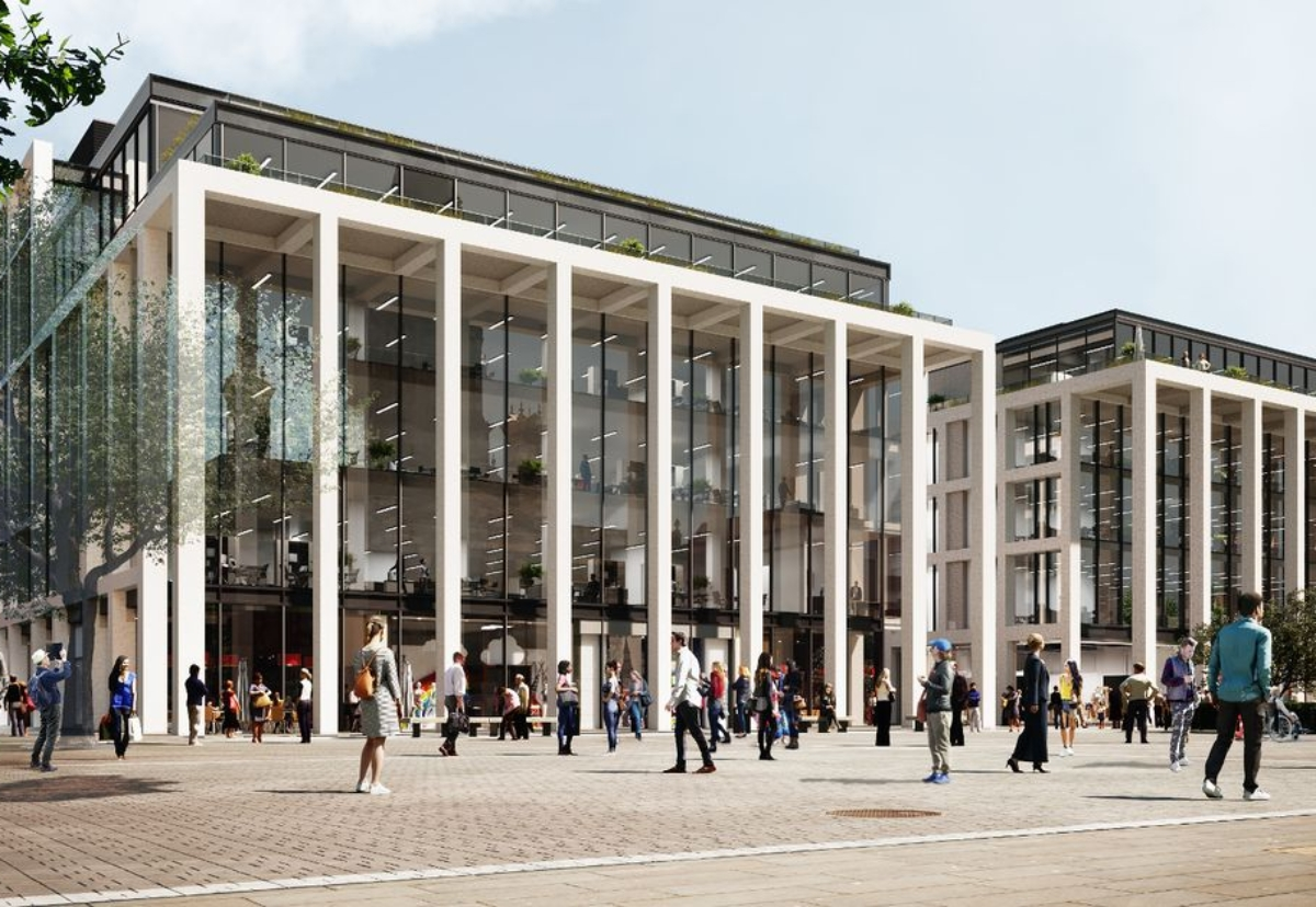 Plan to replace Crompton Place Shopping Centre on Victoria Square with a new retail and leisure complex