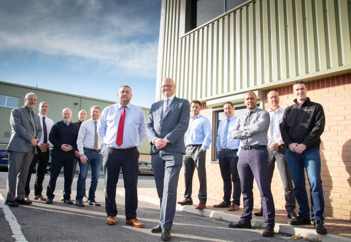 Esh Build's new Yorkshire team