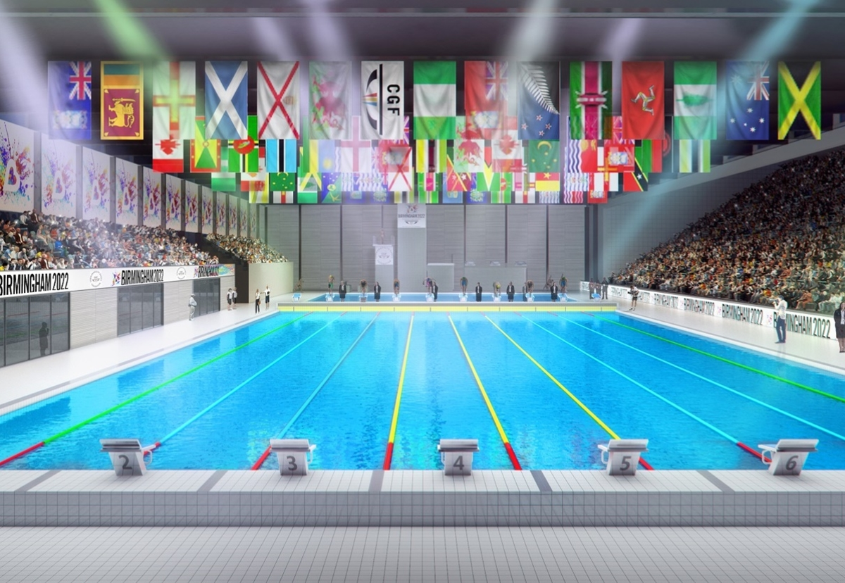 Commonwealth Games pool cost rises from £60 to £73m