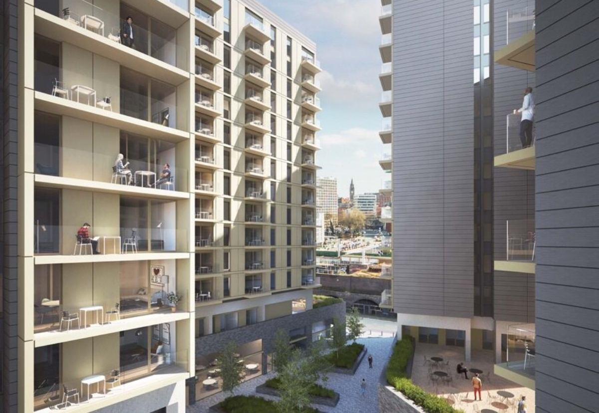 Sir Robert McAlpine has just started work on a 22-storey build to rent scheme in Salford for private rental specialist Grainger