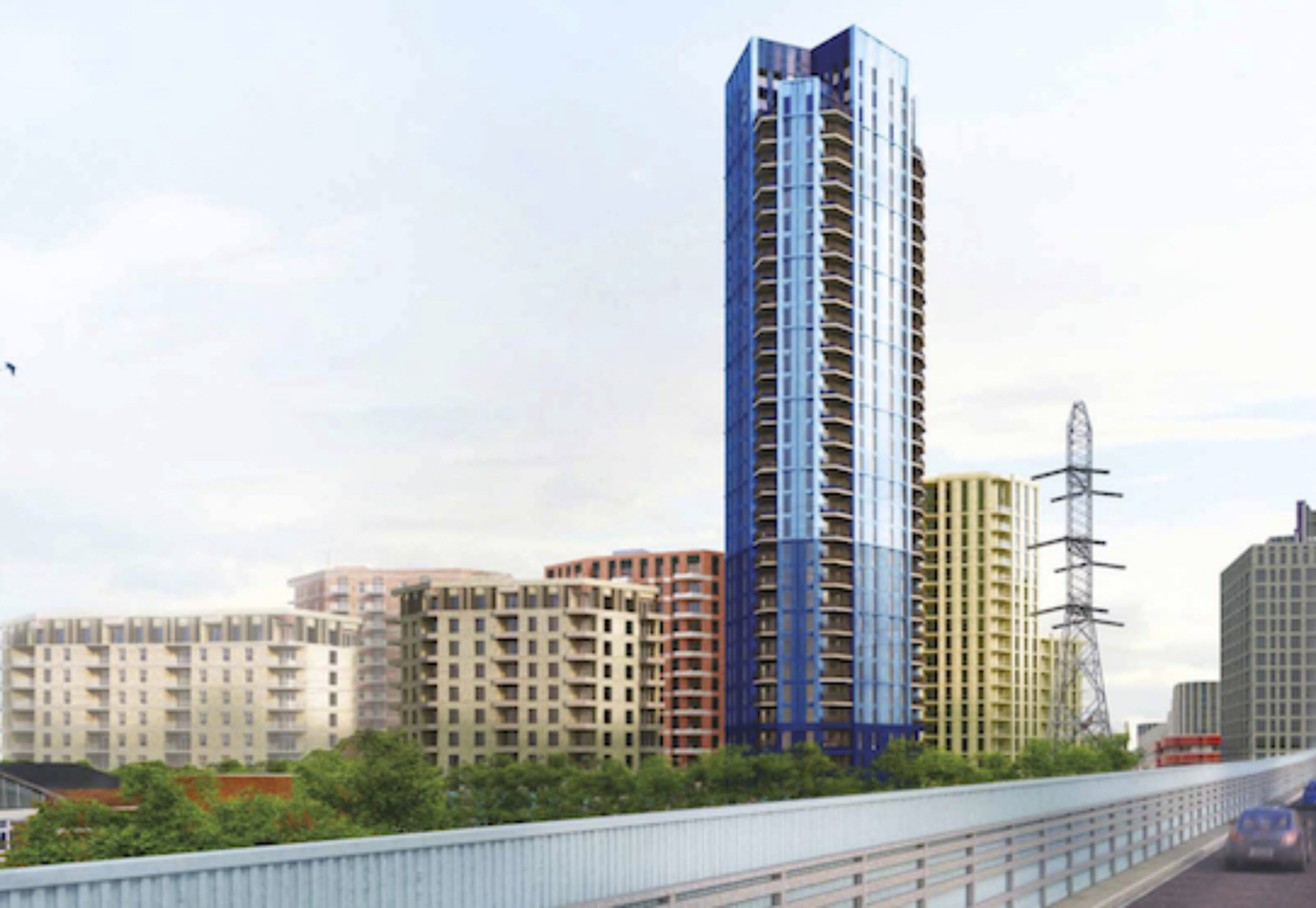 Phase one includes a 112m tower designed by Epr Architects