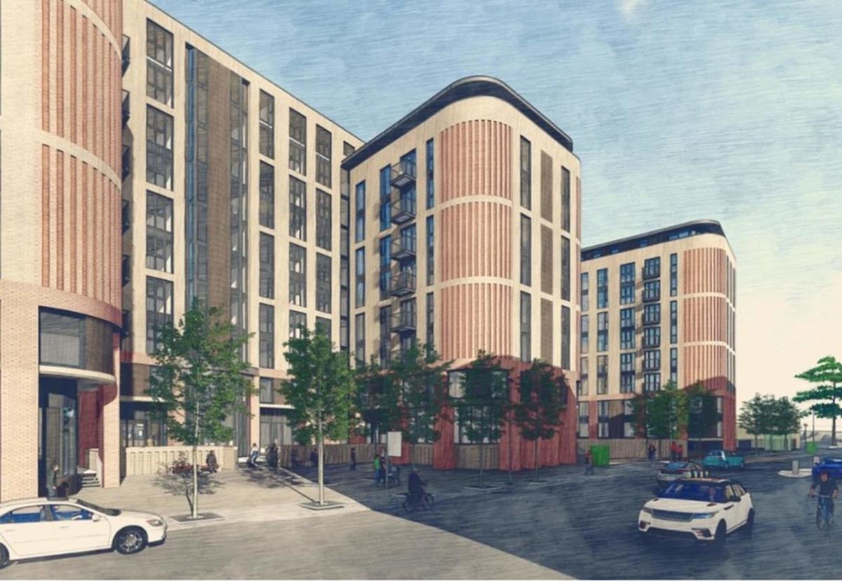 Local architect Frank Ellis designed the build to rent building