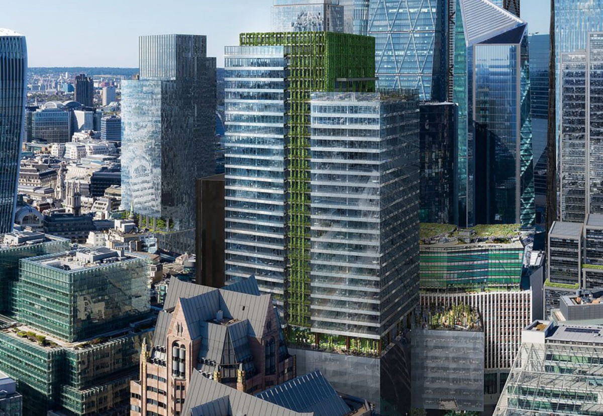 50 Fenchurch Street will be the first building of this scale to incorporate extensive vertical landscaping