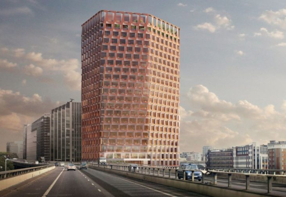 Architect Allies & Morrison designed the new office tower to the western side of Paddington Central