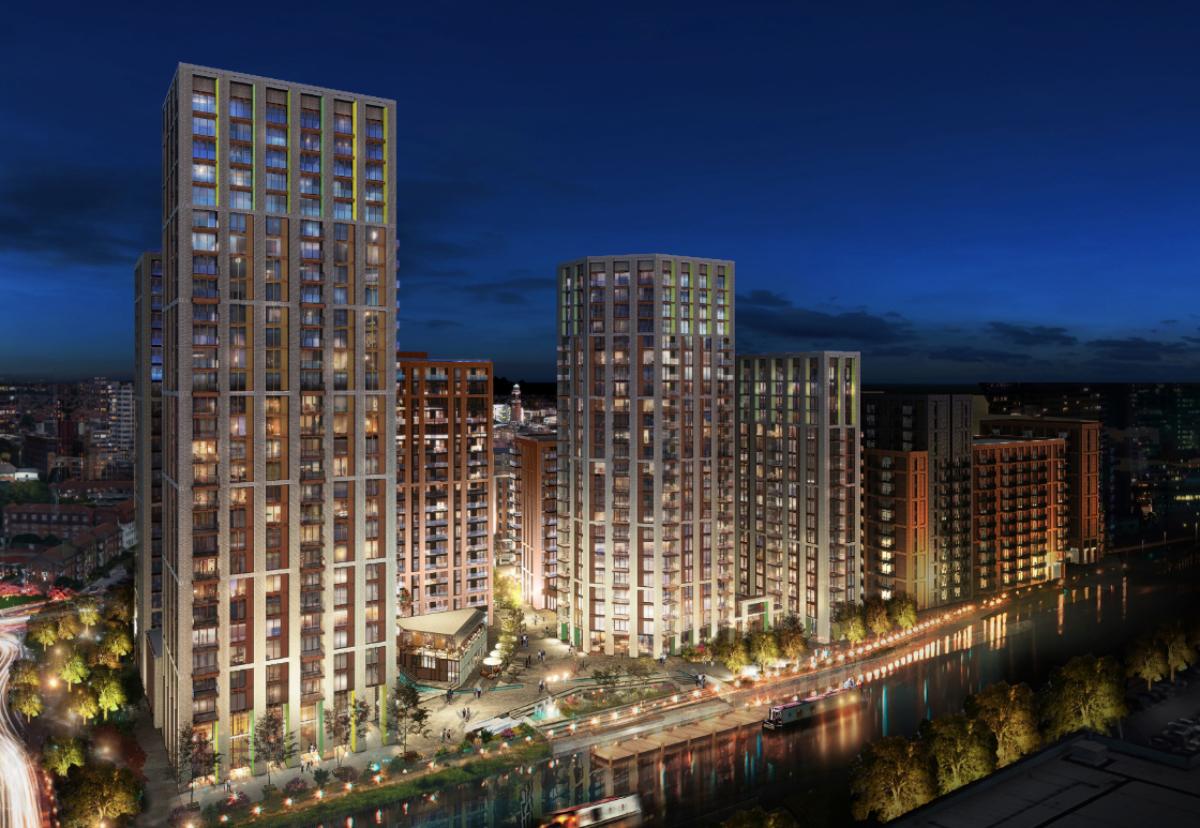 New riverside village to be built in 13 blocks