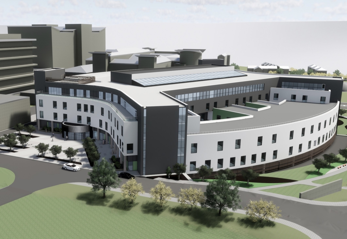 Graham is building the £161m Baird family hospital in Aberdeen