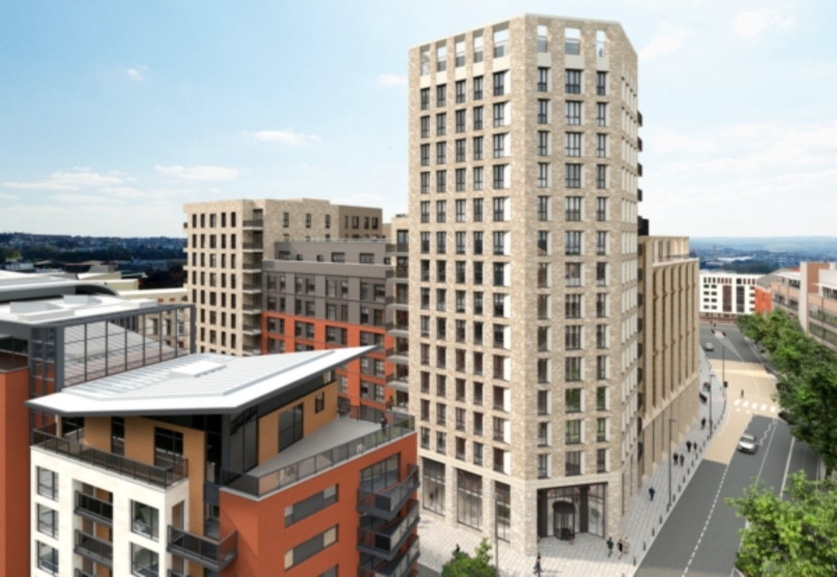 16-storey Millwrights Place in Bristol is latest private rental project to be added to growing development pipeline