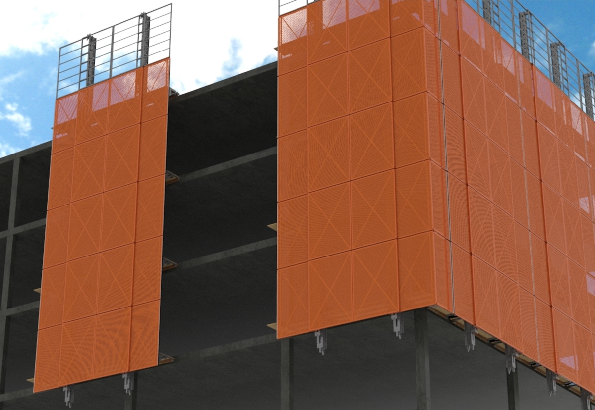 Multi-screen hydraulic climbing now enabled to reduce reliance on crane
