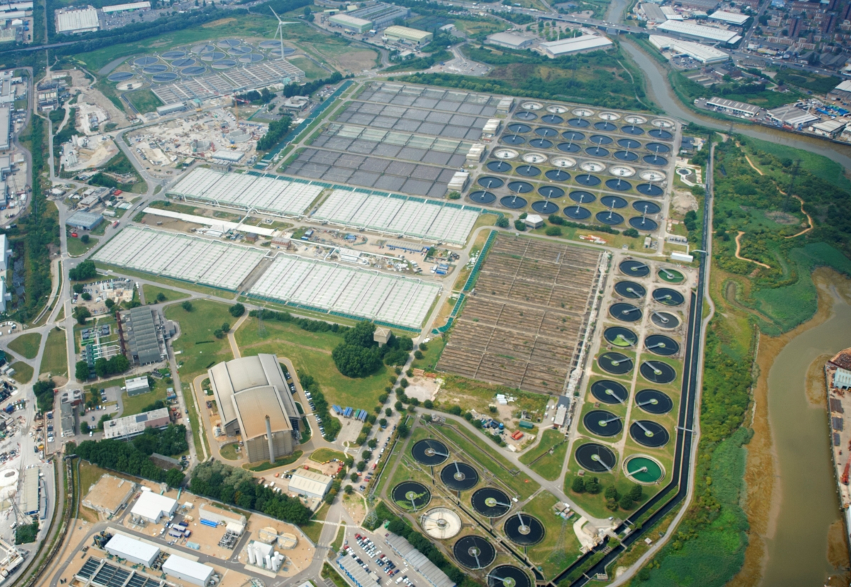 Beckton is the largest sewage treatment works in Europe