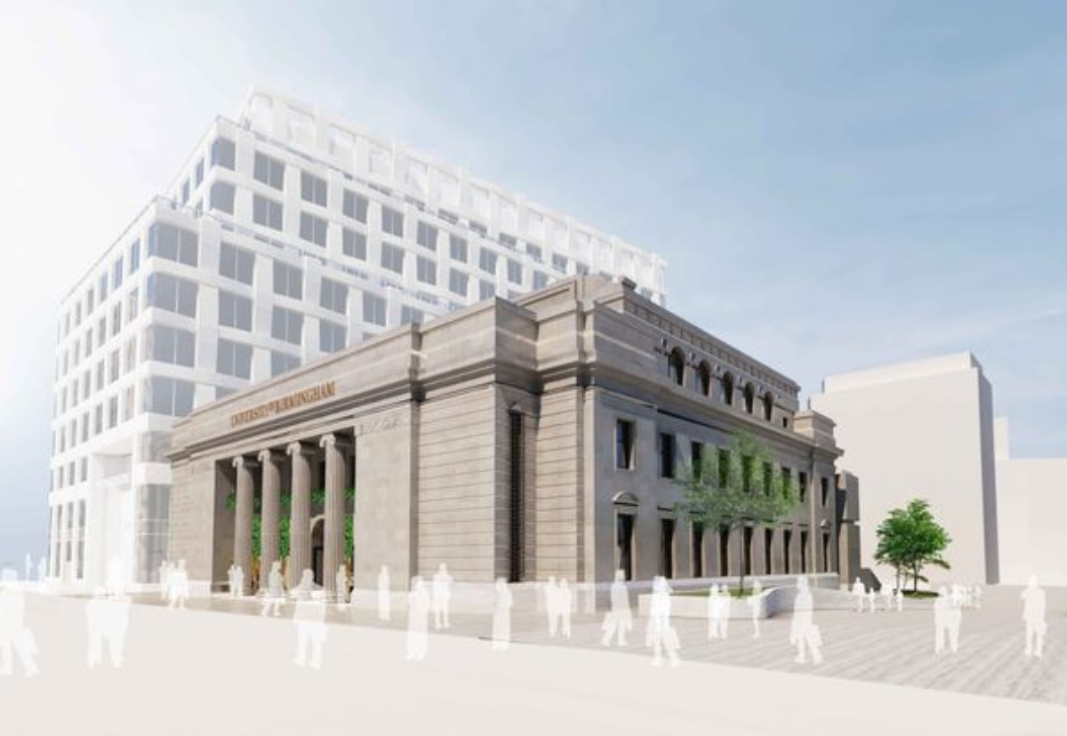 Redevelopment proposals for the landmark former Municipal Bank building in Exchange Square will see it converted into community education hub and performance space for music and drama.