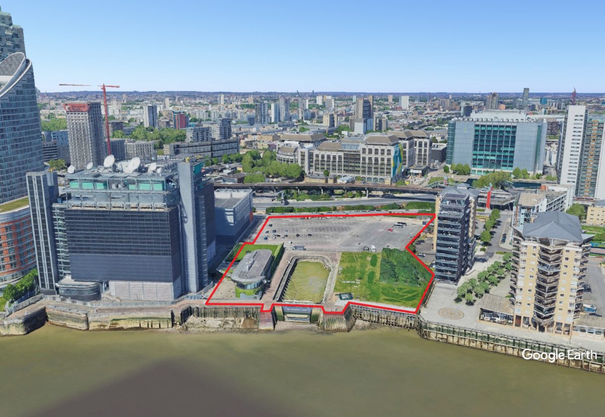 The 1.7 hectare site will be transformed