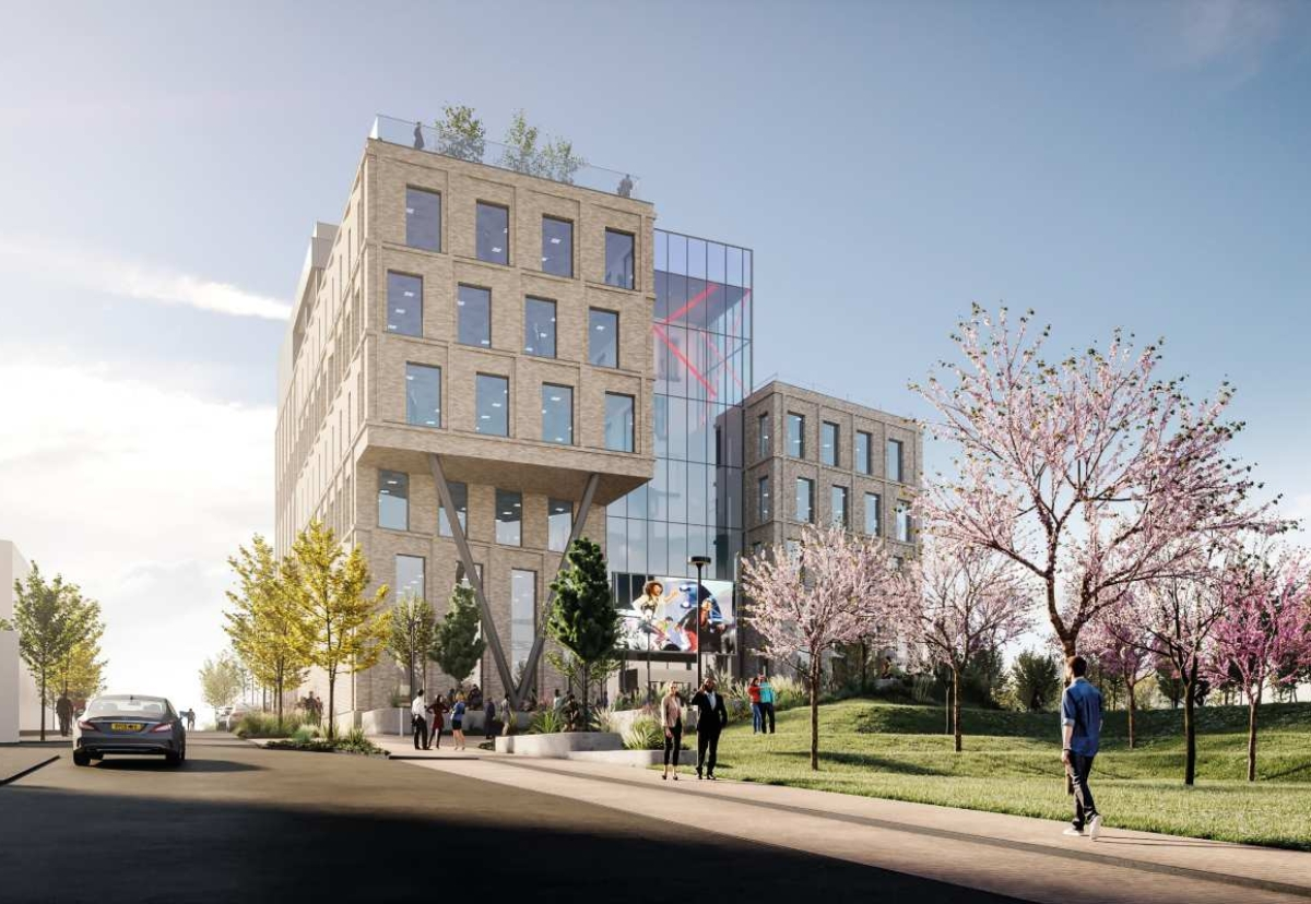 New office will feature gym, lecture theatre and rooftop bar