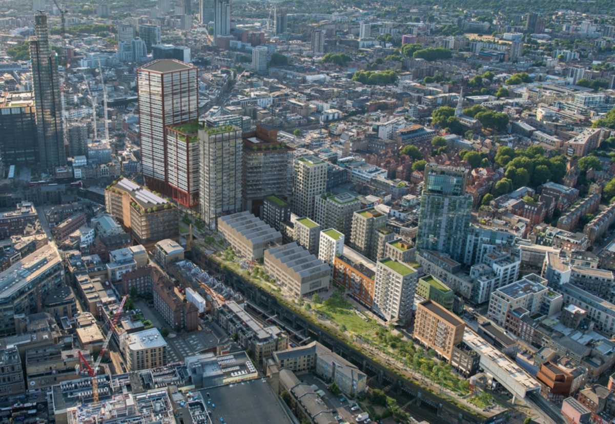 Bishopsgate Goodsyard will be redeveloped after laying derelict since the 1960s