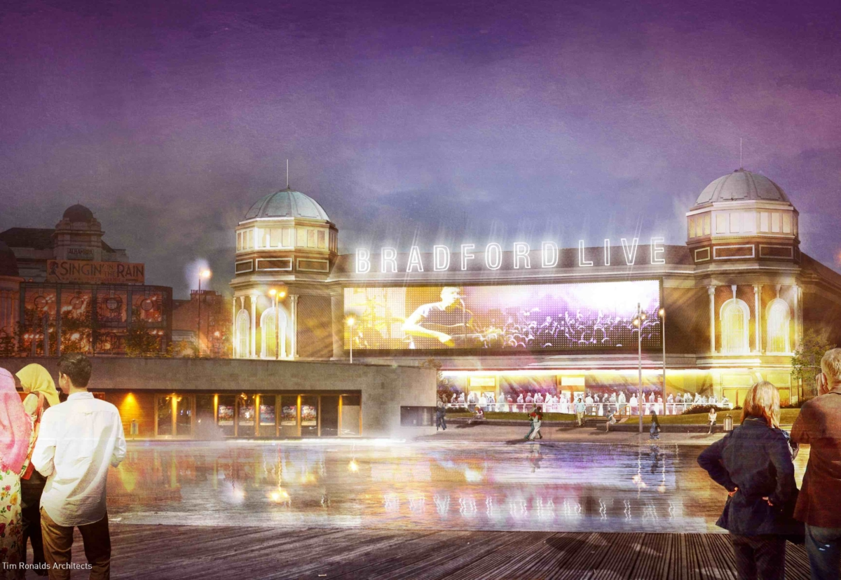 The scheme will reinstate the main auditorium, creating the biggest 'mid-sized' performance area in the country