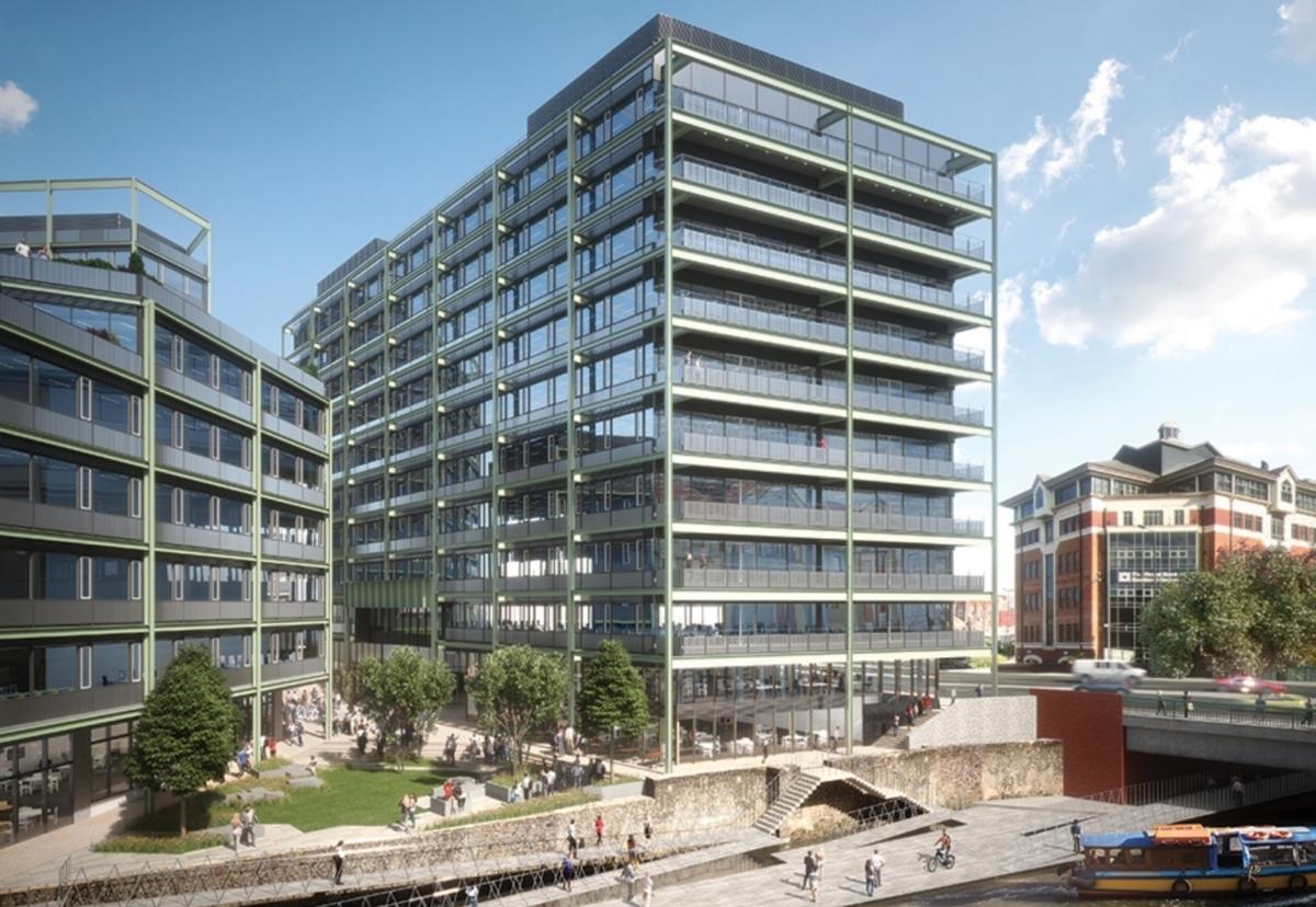 Planned landmark commercial scheme at Bristol's Floating Harbour