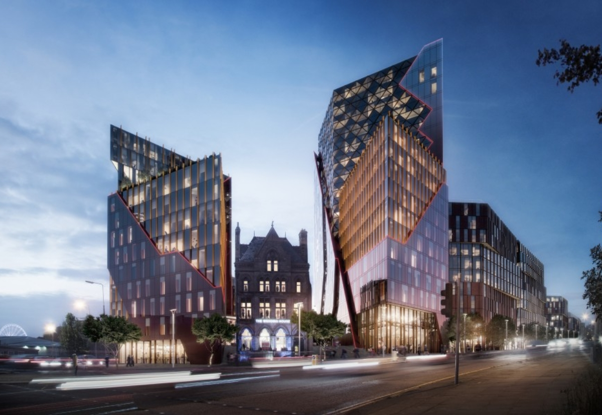 The £200m New Chinatown scheme in Liverpool is one of three projects being investigated