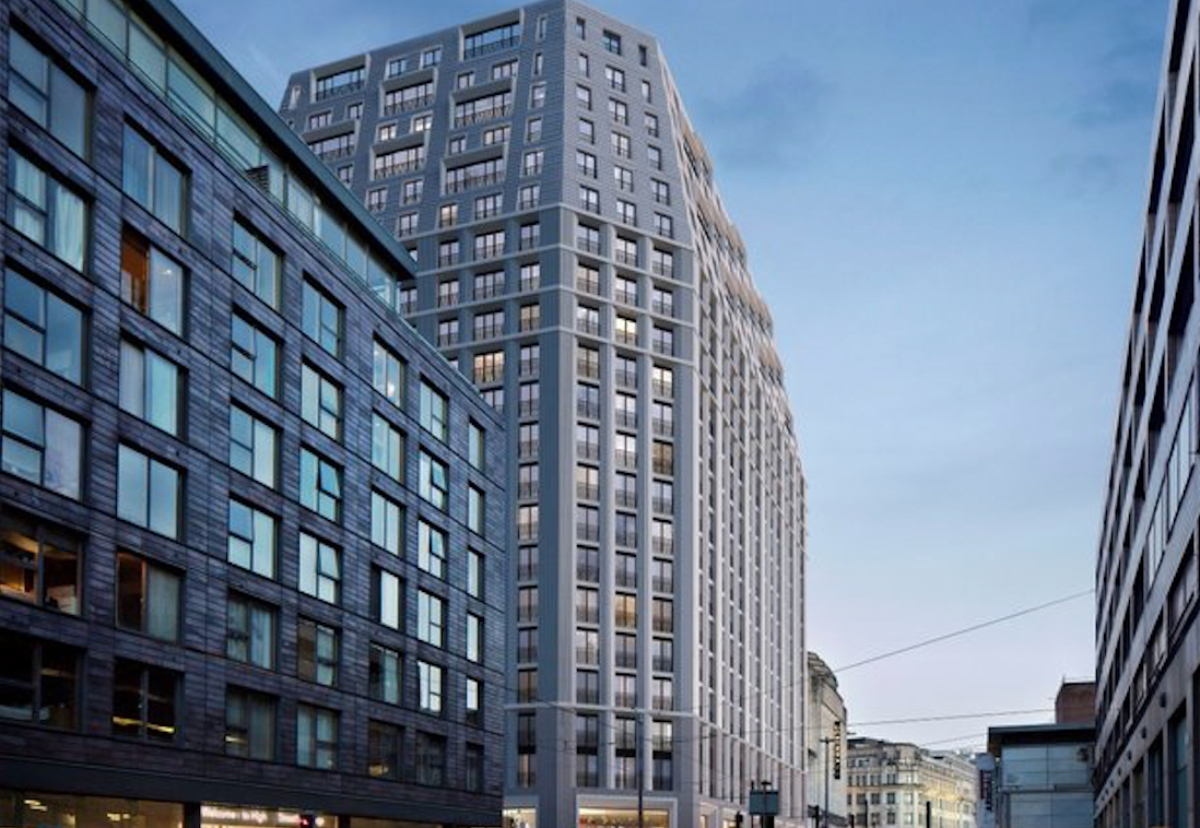 Ceg Submits Plan For  U00a379m Manchester Resi Scheme