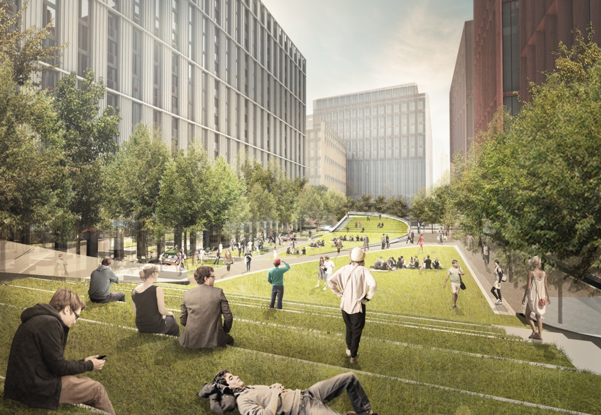 Massive scheme on old BBC site will by built in five phases over 10 years