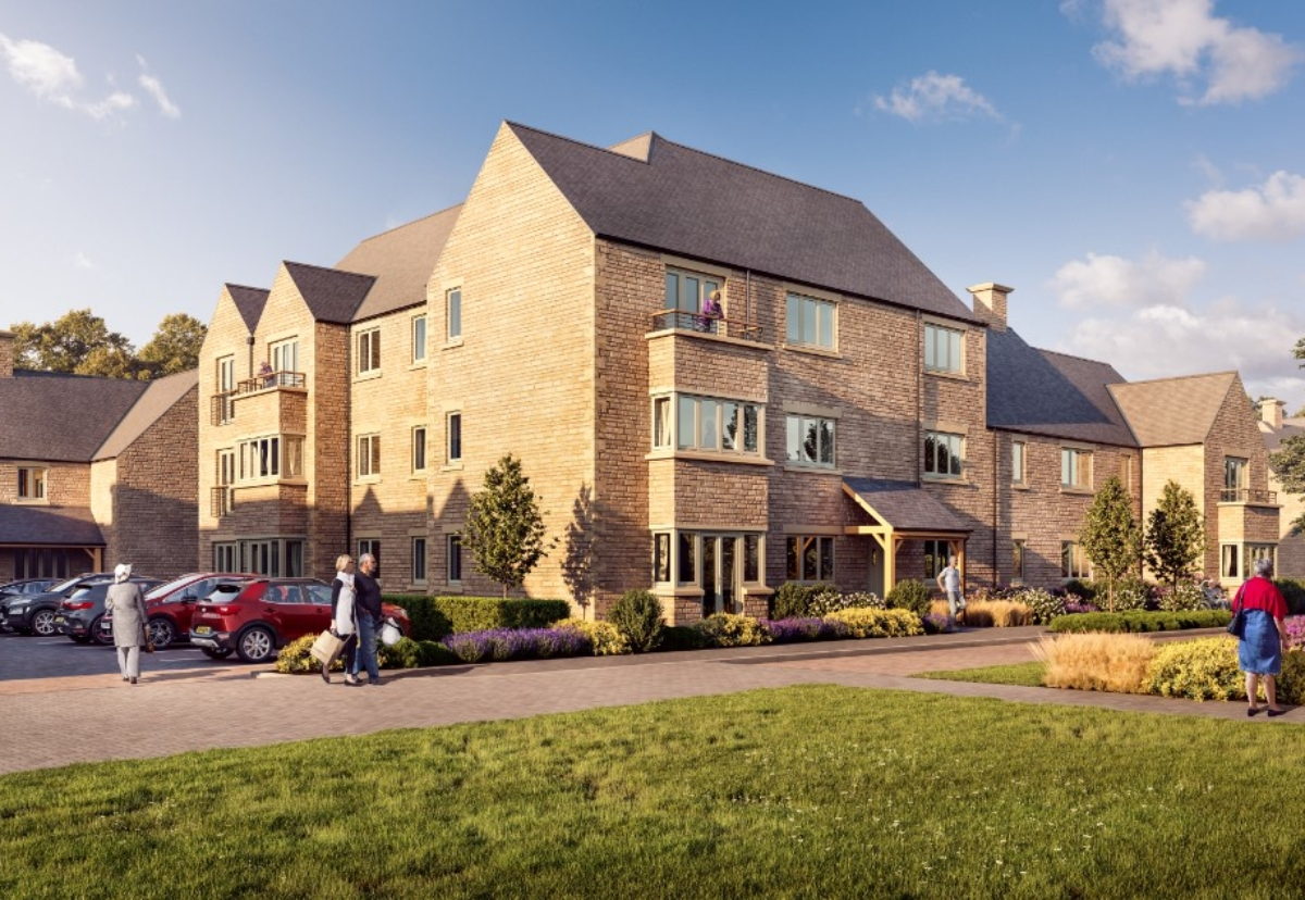 Siddlington Park village will feature a selection of 1, 2 and 3 bed apartments