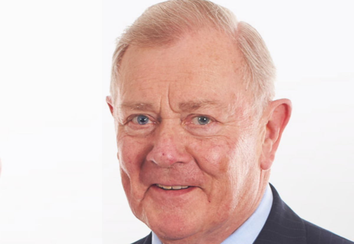 Chairman John Clugston was due to retire next month