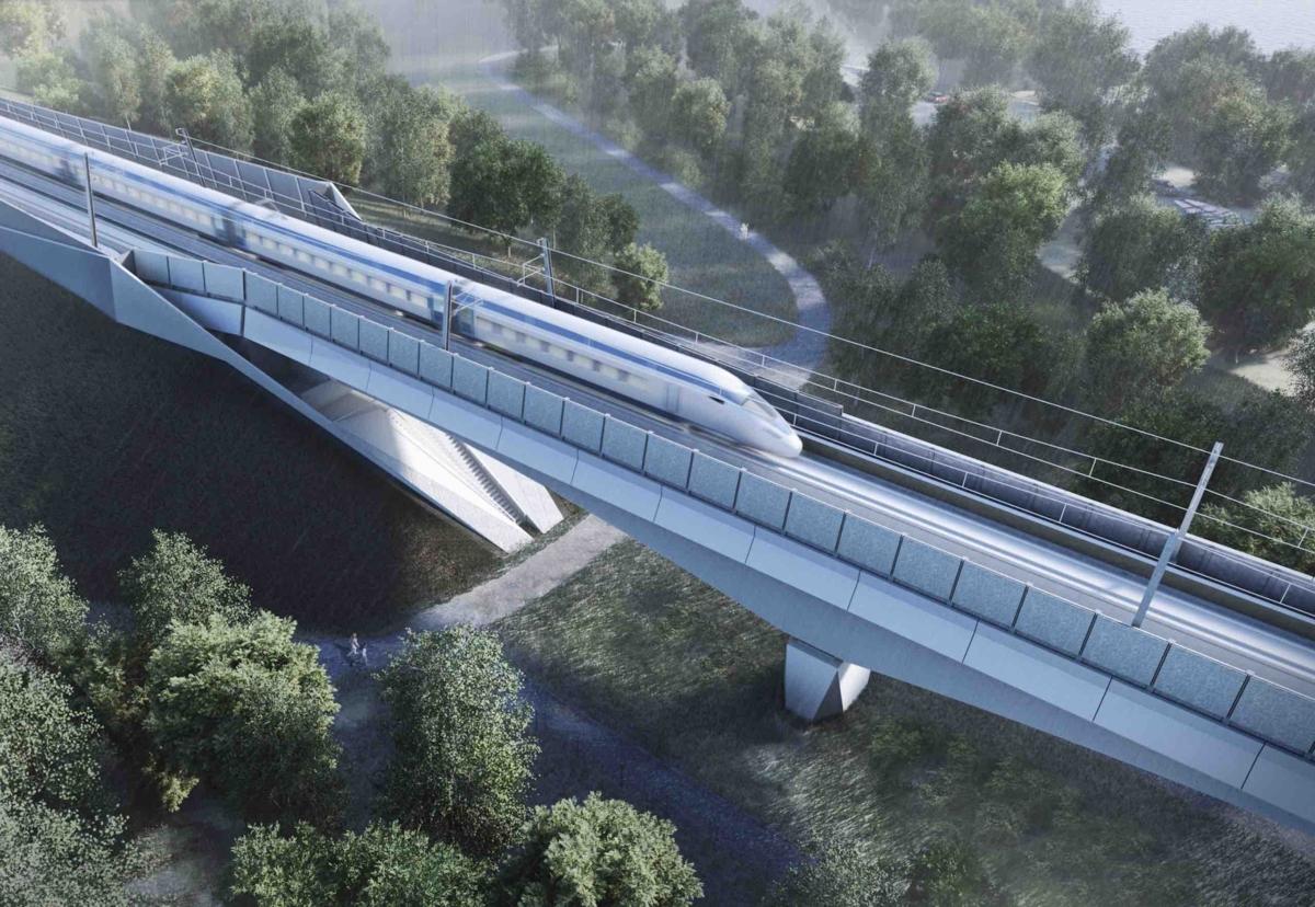 HS2 begins work on UK's longest rail viaduct