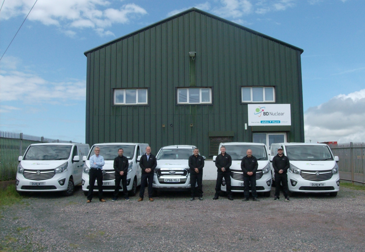 BD Nuclear has invested in new kit for Demtech including a fleet of vans
