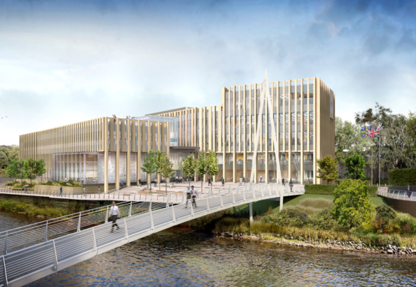 Kier to start work on £50m new home for Durham council