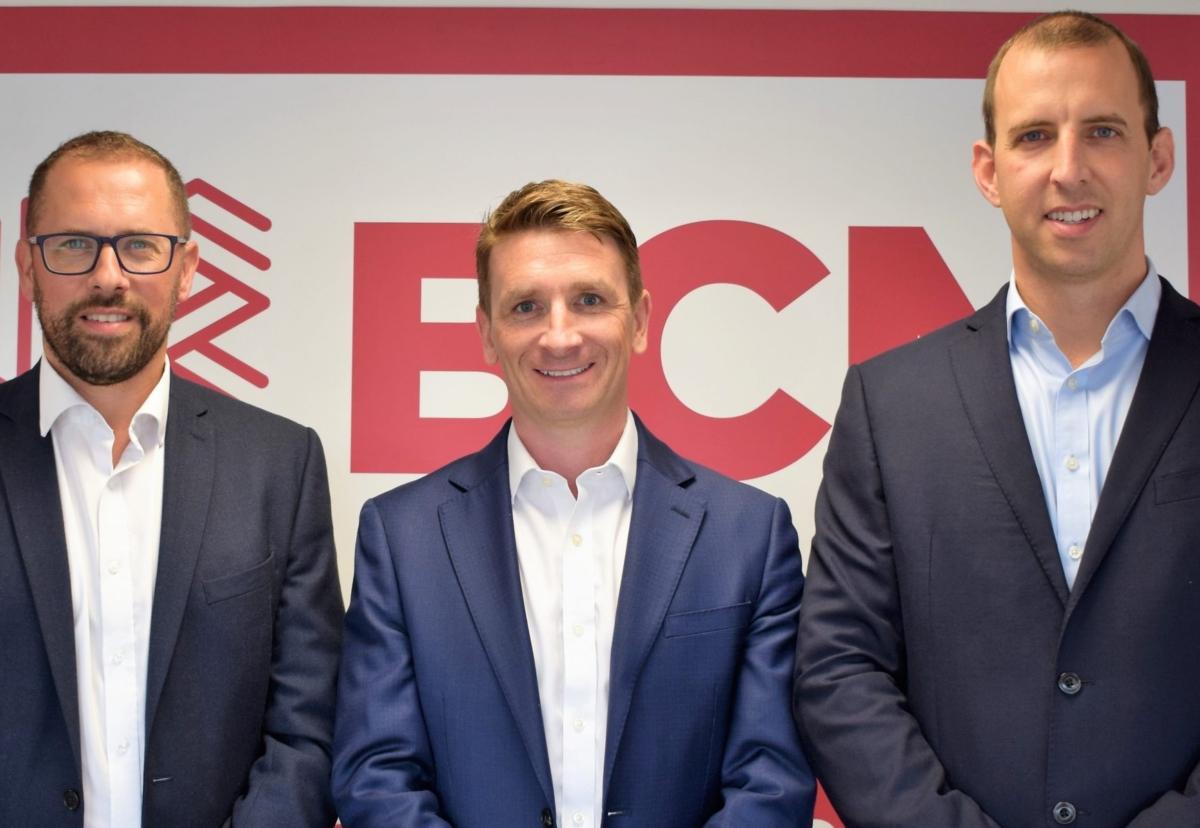 (L-r) New owners: Dan Wiscombe, Shane O'Halloran and Stuart Jackson