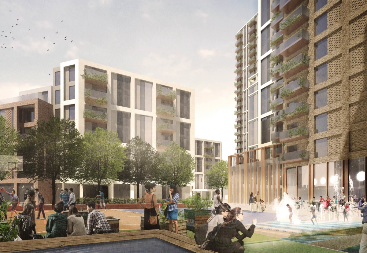 Redevelopment plan for 1930s Ebury Estate