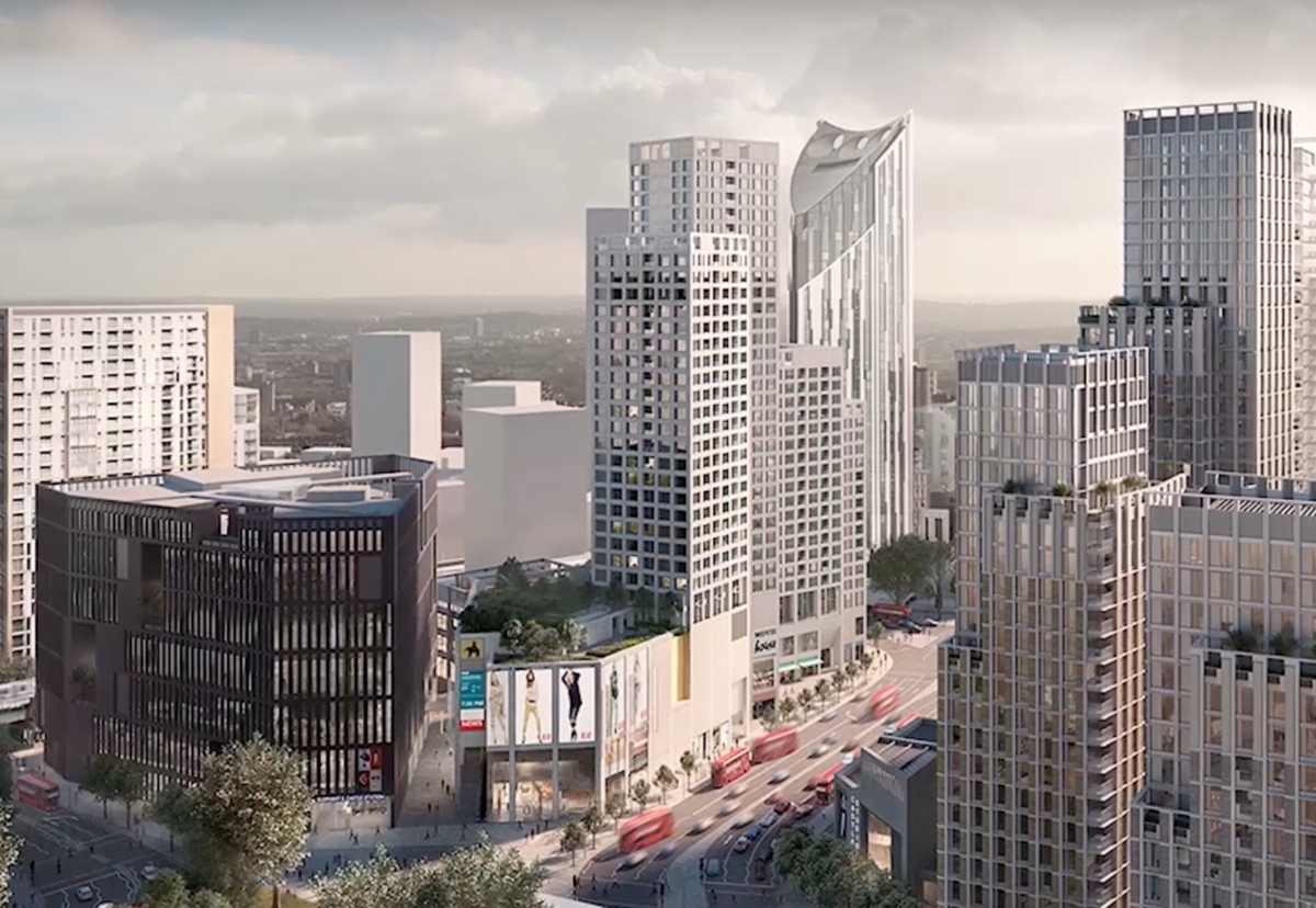 The vast redevelopment will be phased over 10 years
