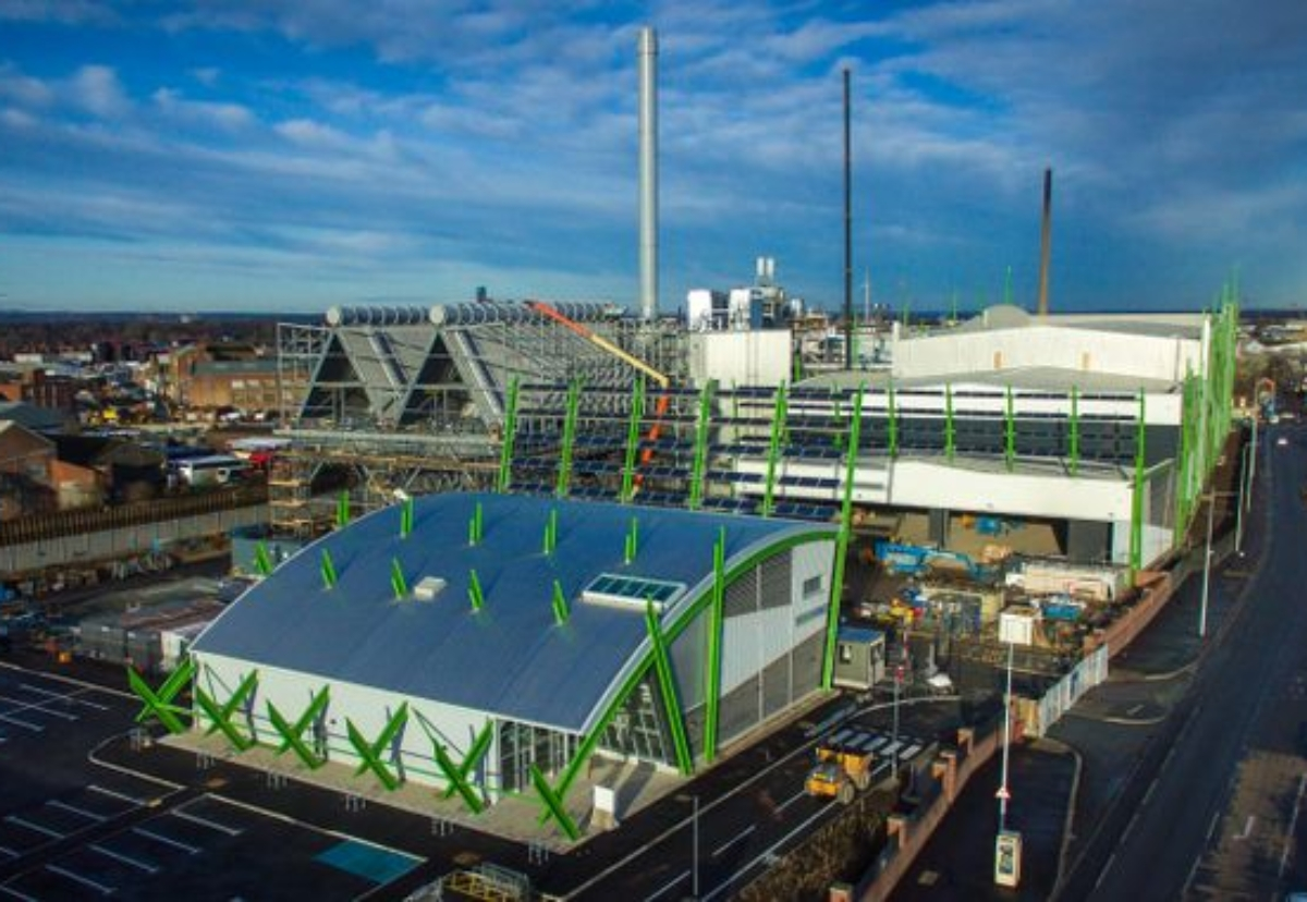 240,000 tonne-capacity waste gasification plant in Hull