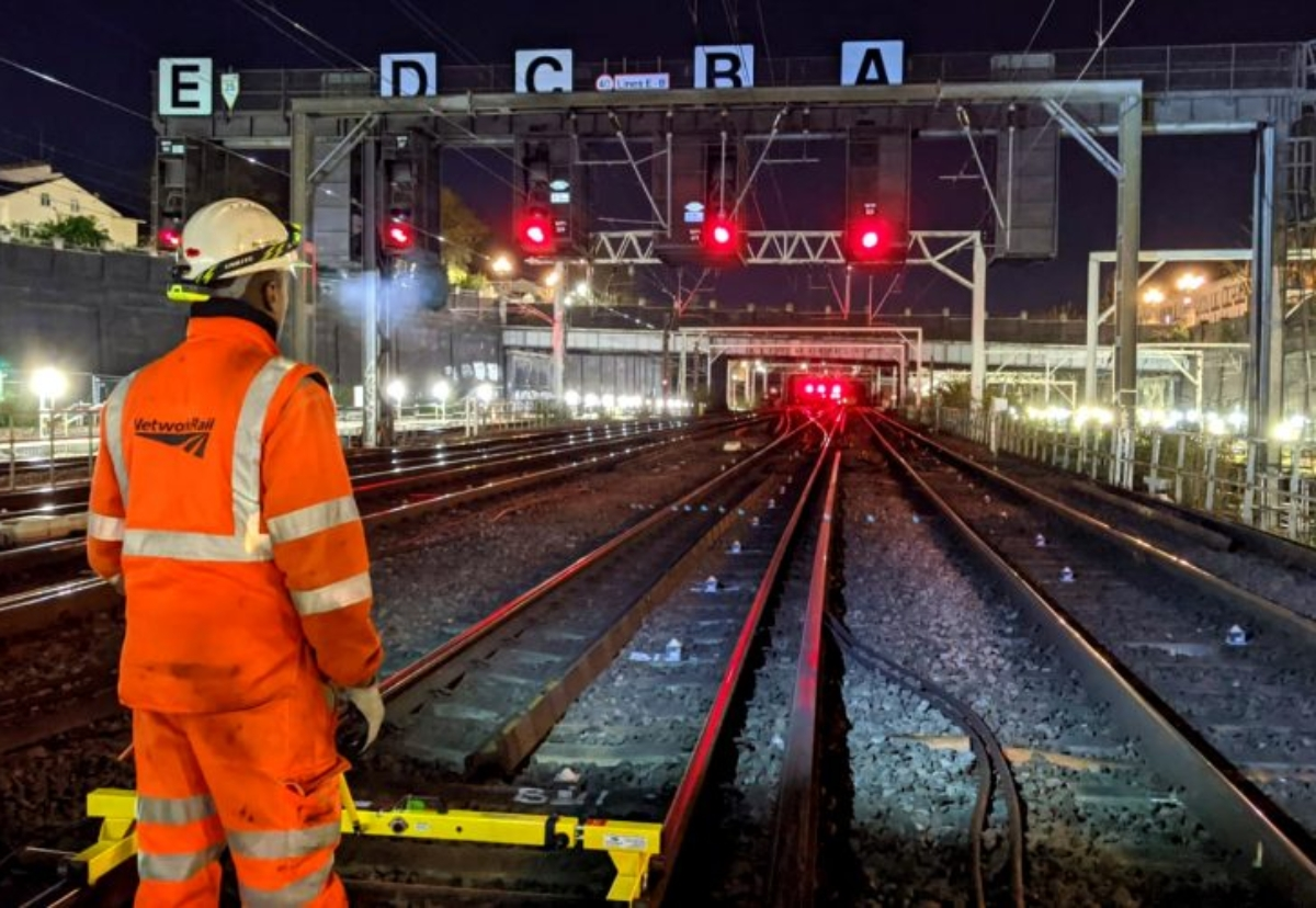 Network Rail beats Government small firms target two years early