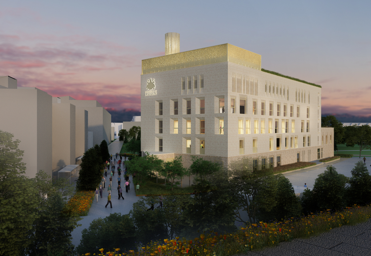 The University has set an ambitious target to create a 'zero carbon' building while in use