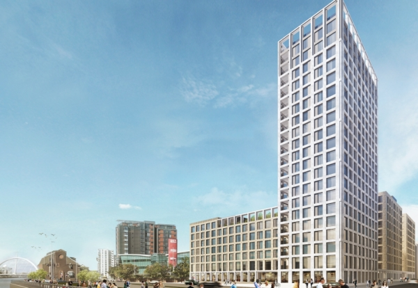 Build To Rent Tower Advance Reaches Glasgow Construction