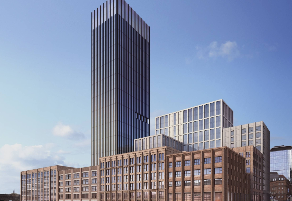 Ryder Architecture designed the Great Charles Street scheme